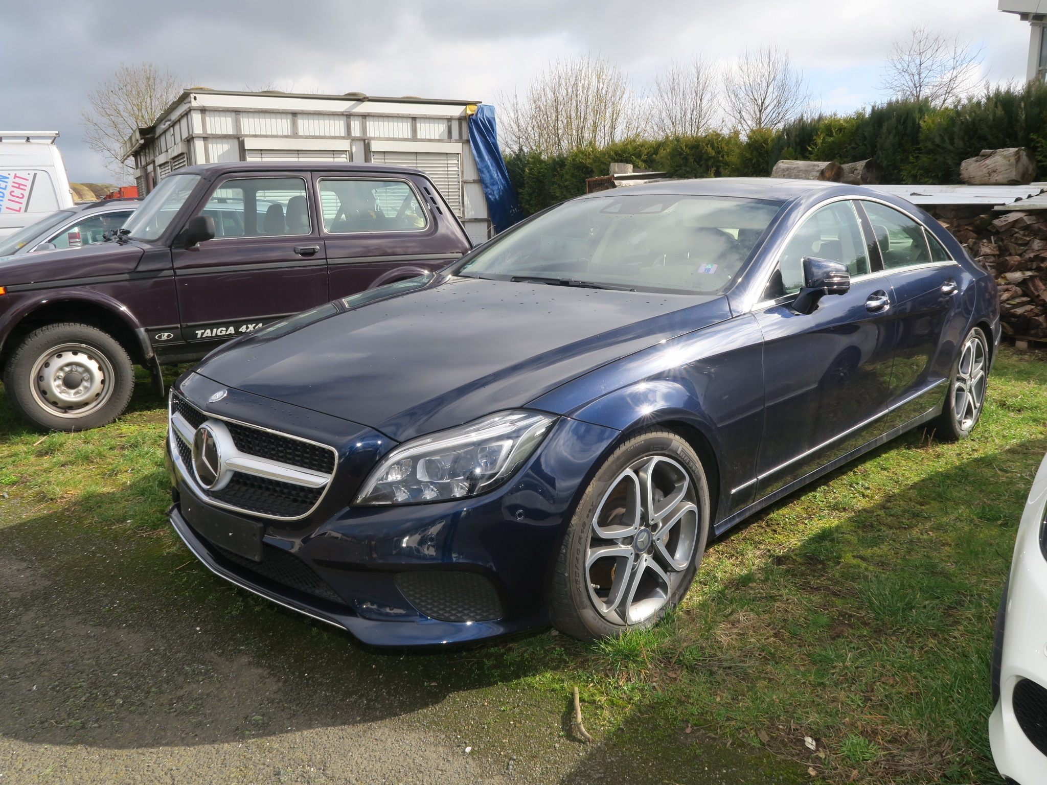 Mercedes-Benz CLS 350 D 4Matic, EZ 2015, 73.000 km, Raum Northeim