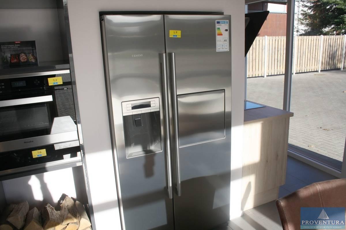 Side By Side Kühlschrank Siemens : Side by side kühlschrank siemens ka ai proventura online auktion
