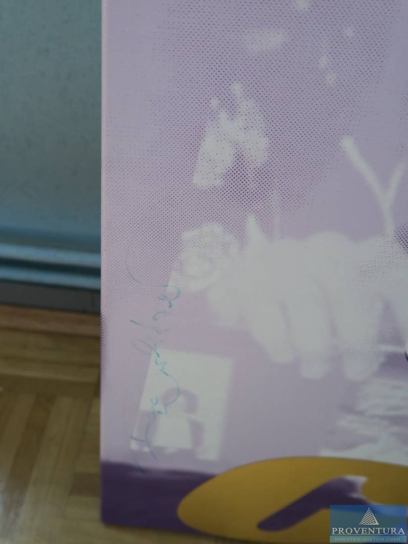 Pop Art Bild Frank Wurlitzer Michael Jackson Und Lady Di Proventura Online Auktion