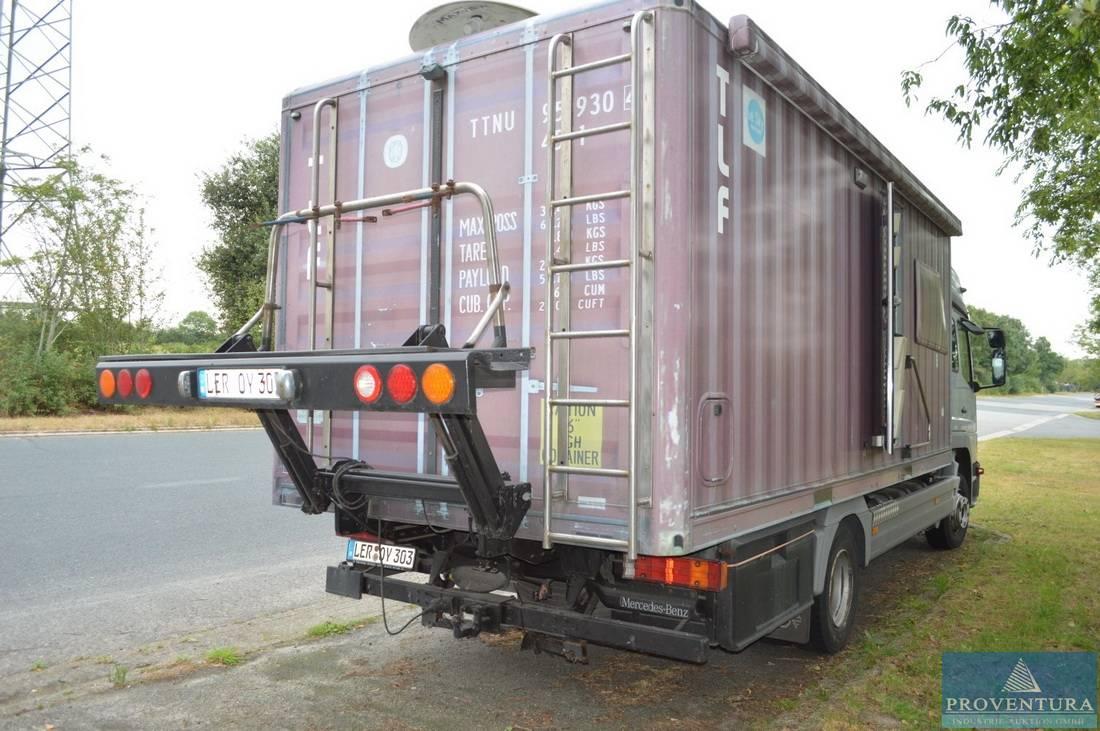 Wohnmobil Sonder-Kfz. als Wohnmobil Eigenbau auf Mercedes-Benz Atego 8 L