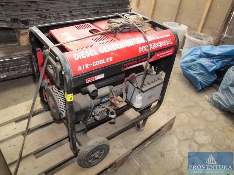 Diesel-Generator KOOP KDF6500XE