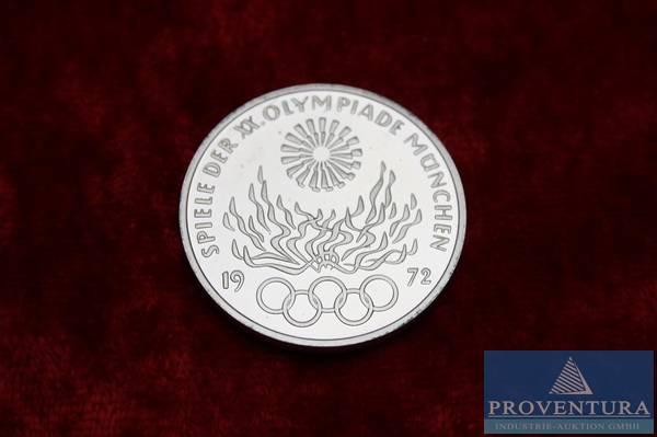 Münzen 40 St Olympische Spiele 1972 München 10 Proventura Online