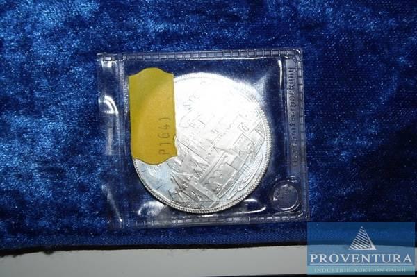 500 Schilling Münze 1000 Jahre Steyr Proventura Online Auktion