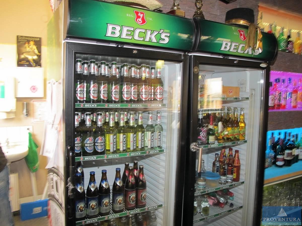 Getränke-Kühlschränke TEFCOLD Becks grün | Proventura Online-Auktion