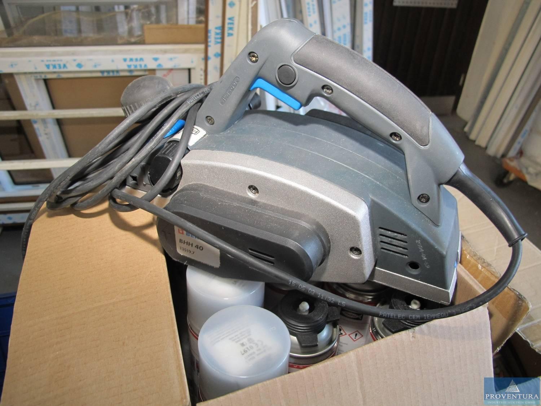 elektro-handhobel berner bhh 40 | proventura online-auktion