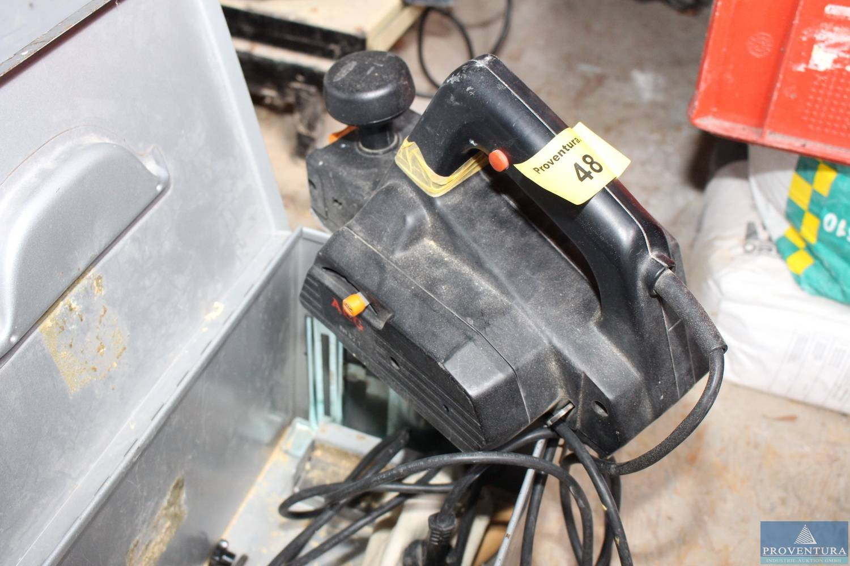 elektro-handhobel aeg eh 82-1 | proventura online-auktion