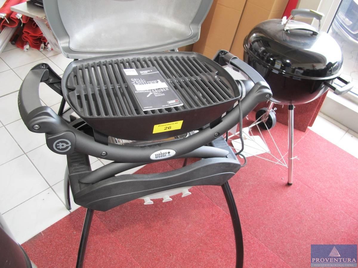 Weber Elektrogrill Q 1400 Stand : Elektrogrill weber q stand proventura online auktion