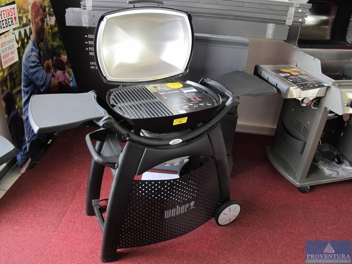 Weber Elektrogrill Q 2400 : Elektrogrill weber q station proventura online auktion
