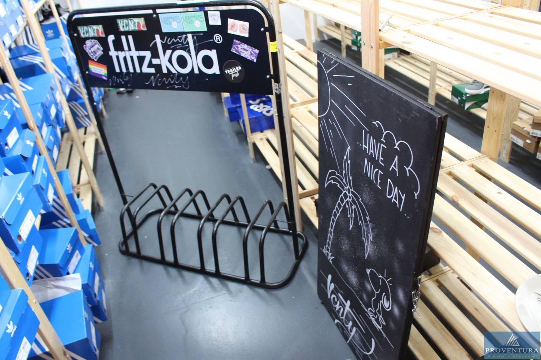 fahrradst nder 4 fach aufschrift fritz kola proventura. Black Bedroom Furniture Sets. Home Design Ideas