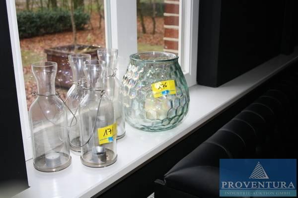 3 windlichter gro proventura online auktion. Black Bedroom Furniture Sets. Home Design Ideas