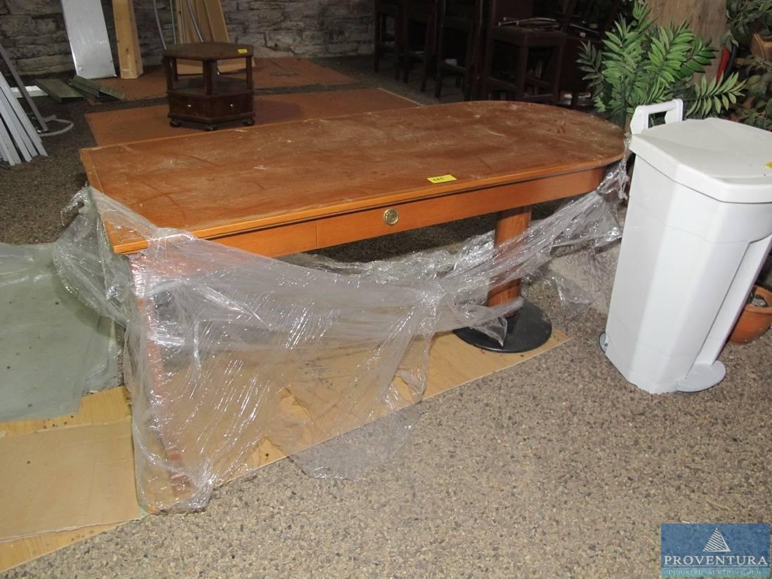 Schreibtisch holz dunkel  Schreibtisch Holz dunkel | Proventura Online-Auktion