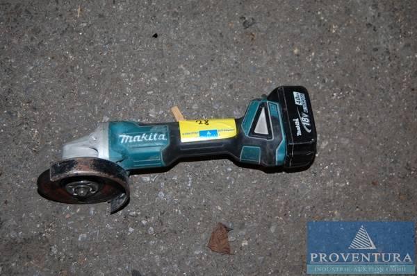 Akku Einhand Winkelschleifer Makita Dga 504 Proventura Online Auktion