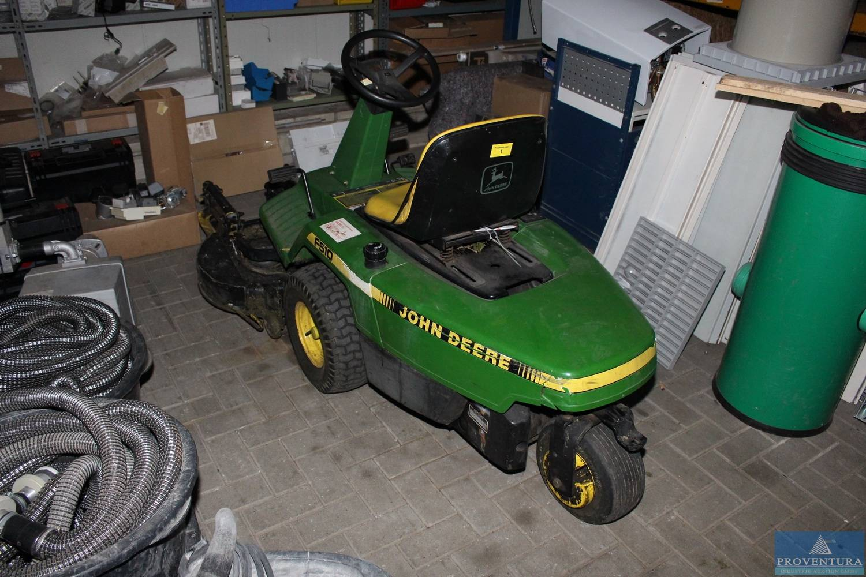 aufsitz-rasenmäher john deere f 510 | proventura online-auktion