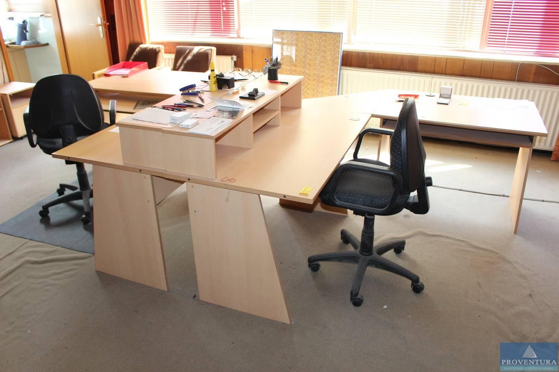 Büromöbel Buche | Proventura Online-Auktion