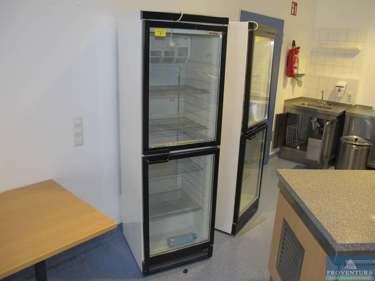 Getränke-Kühlschrank /Umluftkühlschrank NORDCAP KU 4052 G ...