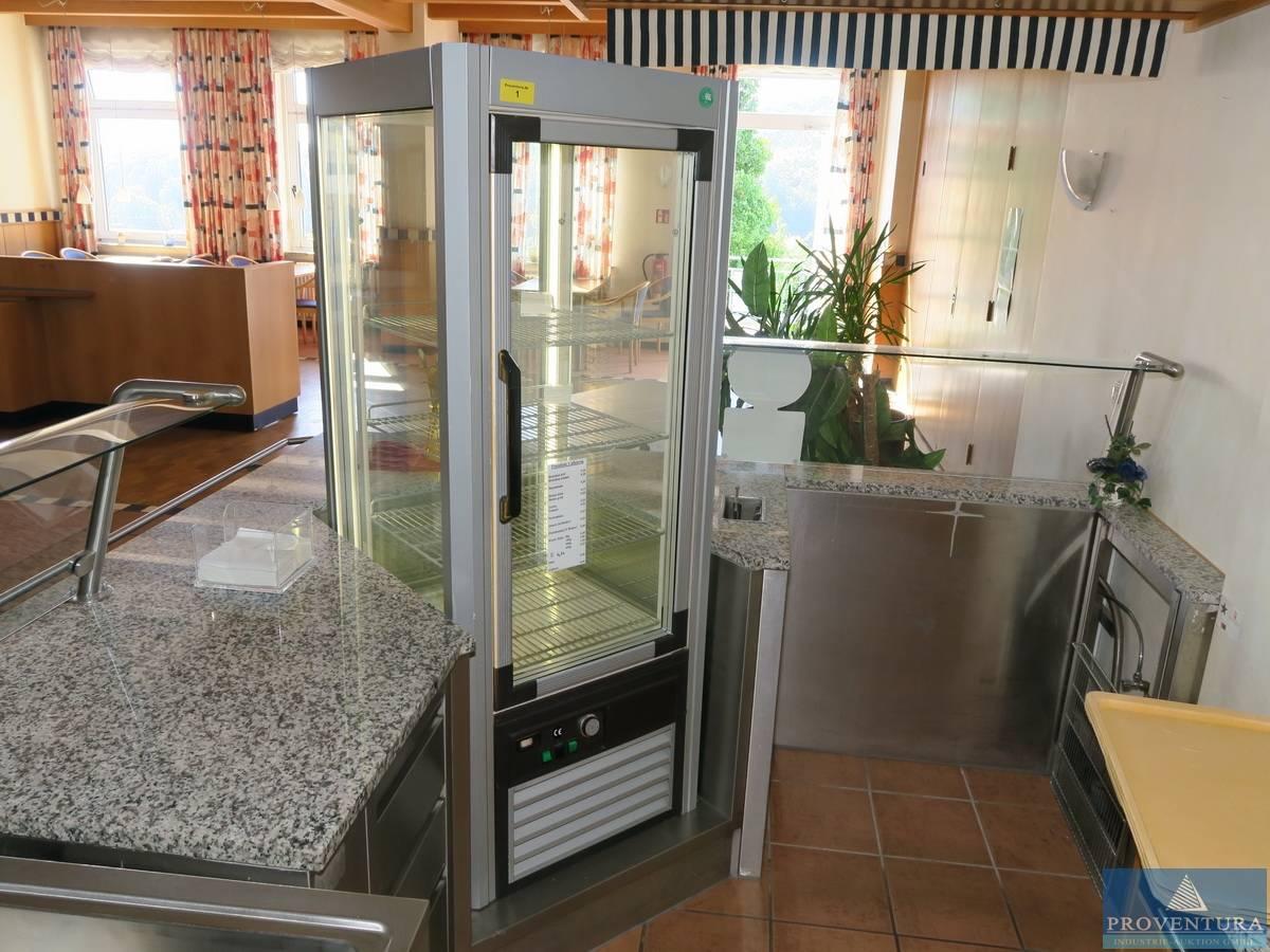 Kühlschrank Vitrine : Vitrinen kühlschrank grau proventura online auktion