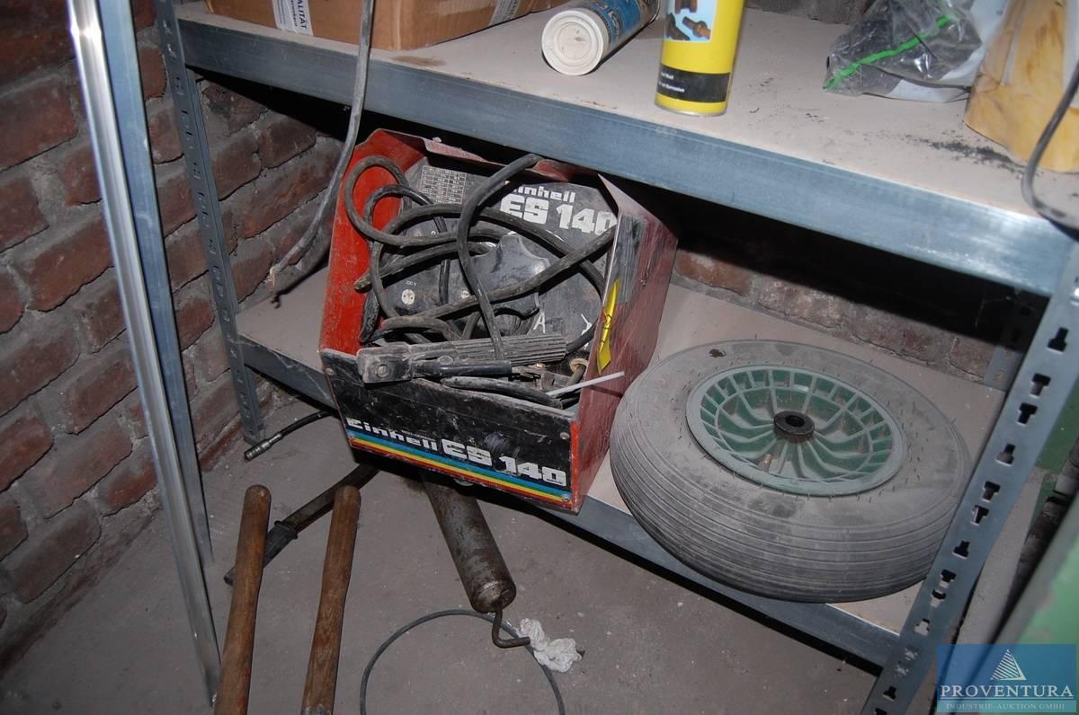 elektro-schweißgerät einhell es 140 | proventura online-auktion