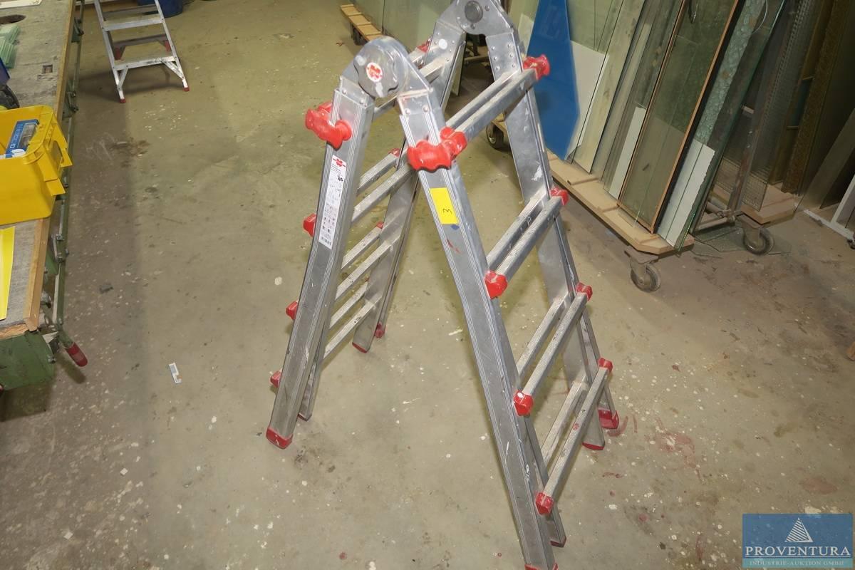 Teleskopleiter wÜrth aluminium proventura online auktion
