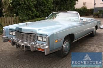 oldtimer cadillac fleetwood eldorado cabrio